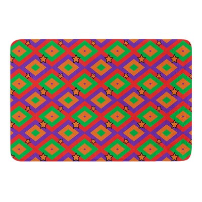 Groovy by Cathy Rodgers Bath Mat Size: 17W x 24L