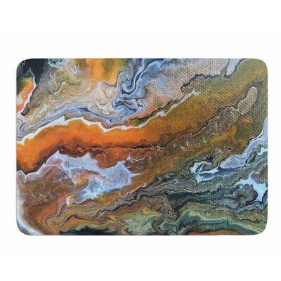Geologic Veins by Carol Schiff Bath Mat Size: 17W x 24L