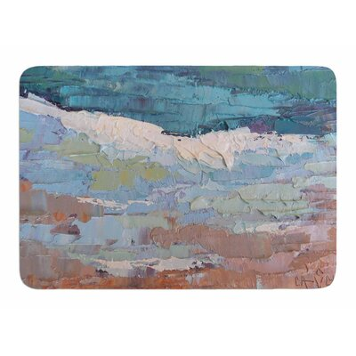 On the Beach by Carol Schiff Bath Mat