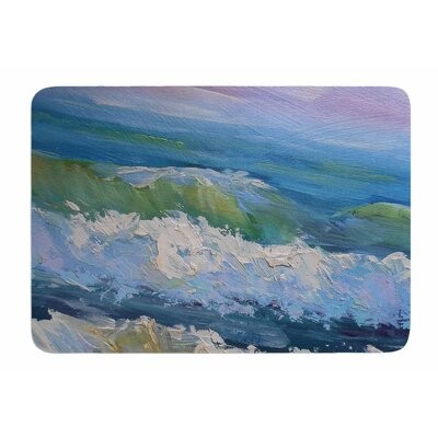 The Pastel Sea by Carol Schiff Bath Mat