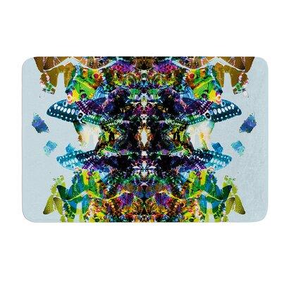 Butterfly by Danii Pollehn Bath Mat Size: 24 W x 36 L
