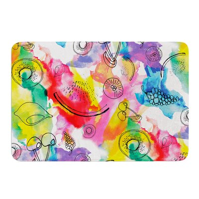 Fruits by Danii Pollehn Bath Mat Size: 24 W x 36 L
