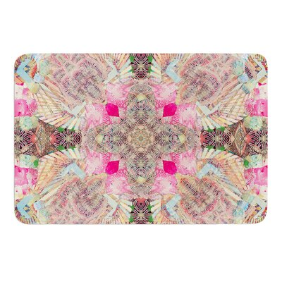 Indian Clash by Danii Pollehn Bath Mat Size: 17W x 24L
