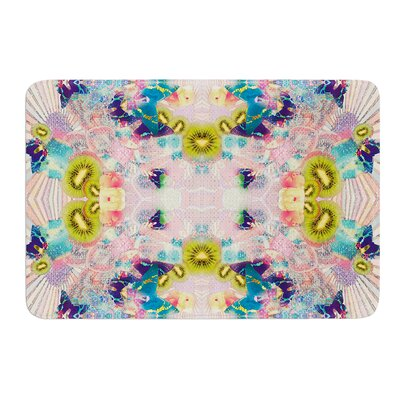 Kaleidoscope by Danii Pollehn Bath Mat Size: 17W x 24L