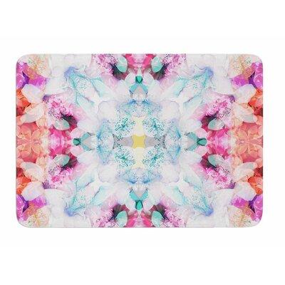 Hibiscus Kaleidoscope by Danii Pollehn Bath Mat