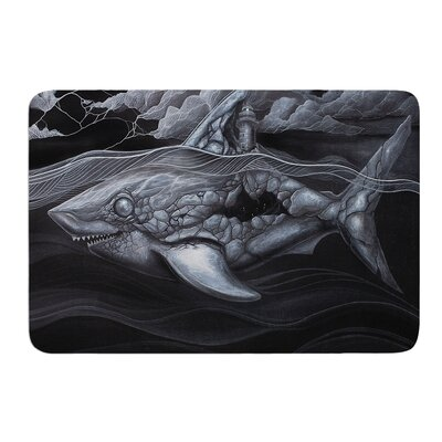 Troubled Joe by Graham Curran Bath Mat Size: 24 W x 36 L