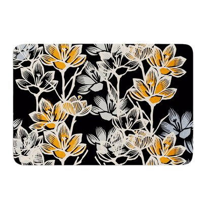 Crocus by Gill Eggleston Bath Mat Size: 17W x 24L