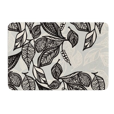 Java Leaf by Gill Eggleston Bath Mat Size: 17W x 24L