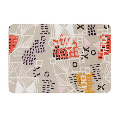 Nico by Gill Eggleston Bath Mat Size: 17W x 24L