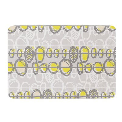 Benin by Gill Eggleston Bath Mat Size: 17W x 24L