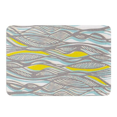 Drift by Gill Eggleston Bath Mat Size: 24 W x 36 L