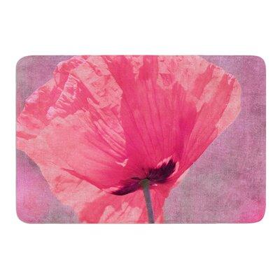 Poppy by Iris Lehnhardt Bath Mat Size: 17w x 24L