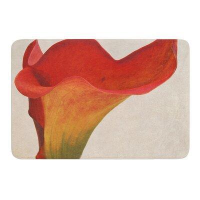 Calla by Iris Lehnhardt Bath Mat Size: 17w x 24L