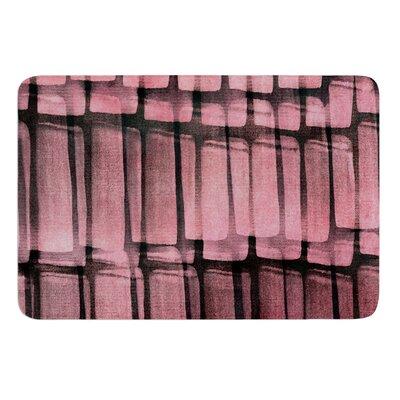 Reddish by Iris Lehnhardt Bath Mat Size: 24 W x 36 L