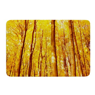 Forest Colors by Iris Lehnhardt Bath Mat Size: 17w x 24L