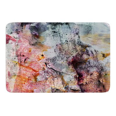 Floating Colors by Iris Lehnhardt Bath Mat Size: 17w x 24L