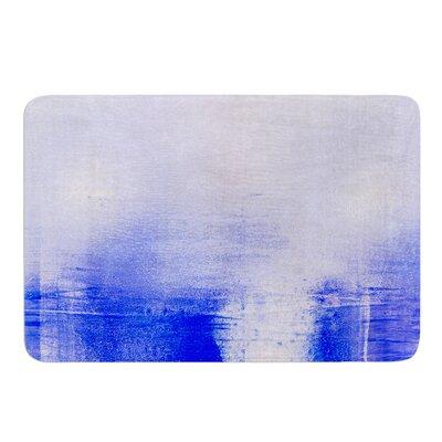 Blue & Lavendar by Iris Lehnhardt Bath Mat Size: 17w x 24L