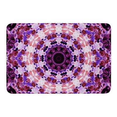 Mandala III by Iris Lehnhardt Bath Mat Size: 17w x 24L