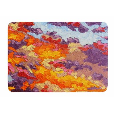 Evening Multicolor Sky by Jeff Ferst Bath Mat