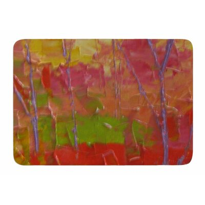 Colorful Garden by Jeff Ferst Bath Mat