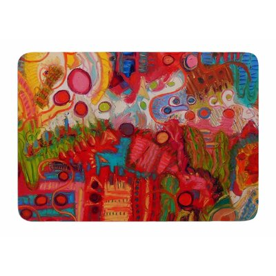 Desert Under A Full Moon by Jeff Ferst Bath Mat