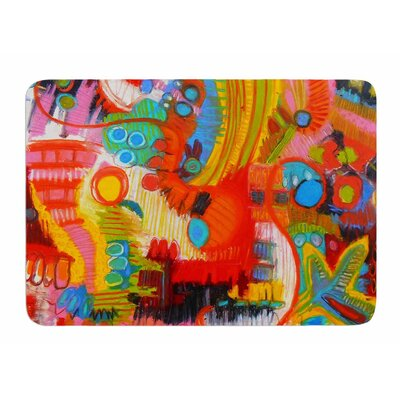 Flower Power by Jeff Ferst Bath Mat