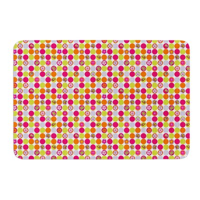 Happy Circles by Julia Grifol Bath Mat Size: 24 W x 36 L