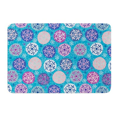 Floral Winter by Julia Grifol Bath Mat Size: 24 W x 36 L