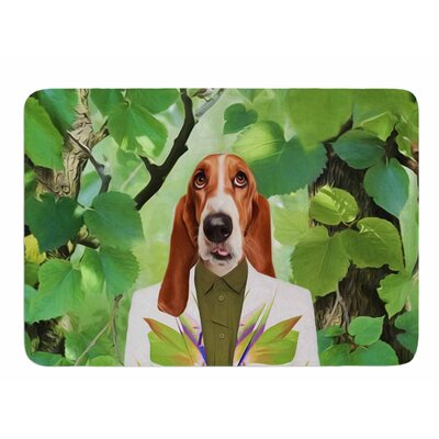 Into The Leaves N6 by Natt Bath Mat