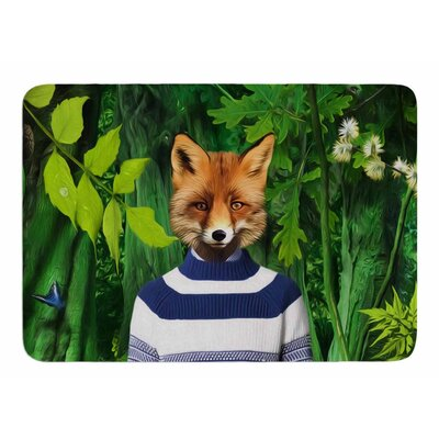 Into The Leaves N7 by Natt Bath Mat