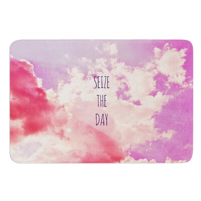 Seize the Day by Iris Lehnhardt Bath Mat Size: 24 W x 36 L