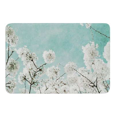 Flowering Season by Iris Lehnhardt Bath Mat Size: 17w x 24L