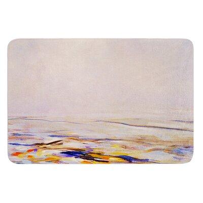 Hazy Sunrise by Iris Lehnhardt Bath Mat Size: 24 W x 36 L