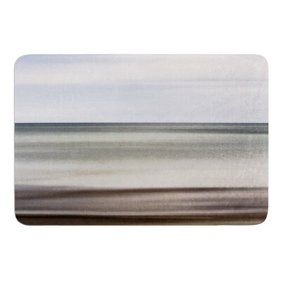 Abstract Beach by Iris Lehnhardt Bath Mat Size: 24 W x 36 L