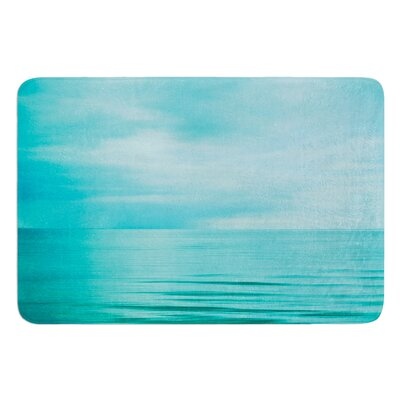 Calm Sea by Iris Lehnhardt Bath Mat Size: 17w x 24L