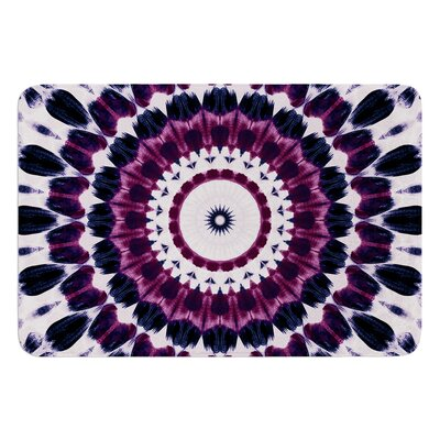 Batik Pattern by Iris Lehnhardt Bath Mat Size: 17w x 24L