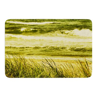 Dunes and Waves by Iris Lehnhardt Bath Mat Size: 17w x 24L