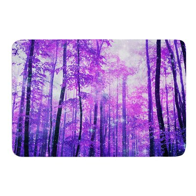 Magic Woods by Iris Lehnhardt Bath Mat Size: 17w x 24L