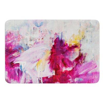 Magenta by Iris Lehnhardt Bath Mat Size: 24 W x 36 L