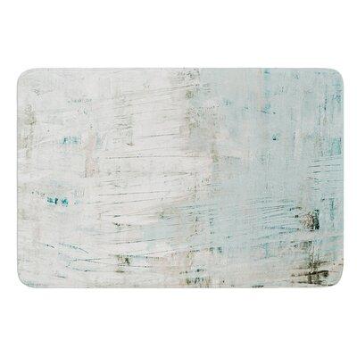 Bluish Green by Iris Lehnhardt Bath Mat Size: 24 W x 36 L