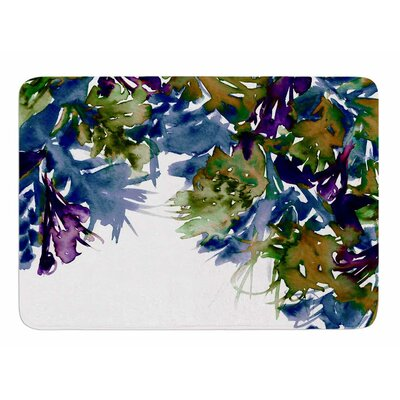 Floral Cascade 4 by Ebi Emporium Bath Mat