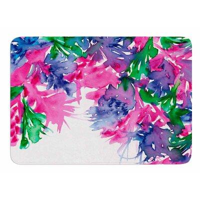 Floral Cascade 1 by Ebi Emporium Bath Mat
