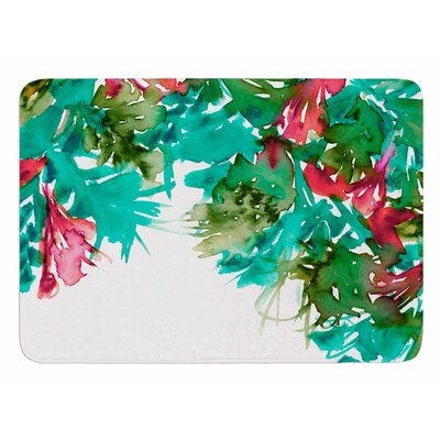Floral Cascade 7 by Ebi Emporium Bath Mat