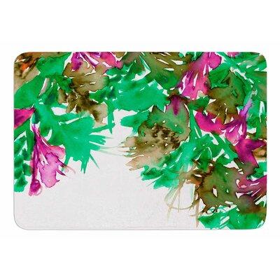 Floral Cascade 6 by Ebi Emporium Bath Mat