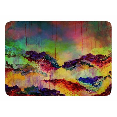 Its A Rose Colored Life 4 by Ebi Emporium Bath Mat