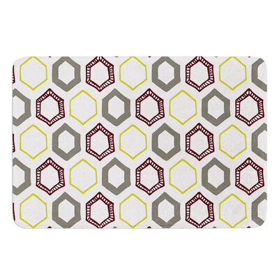 Hexy Small by Laurie Baars Bath Mat