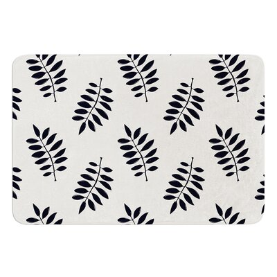 Pagoda Leaf Small by Laurie Baars Bath Mat