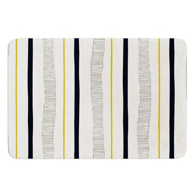 Textured Stripes by Laurie Baars Bath Mat