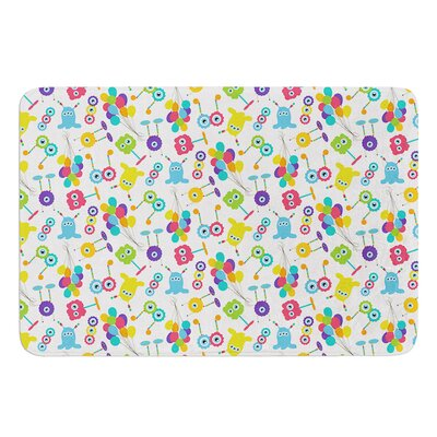 Fun Creatures by Laura Escalante Bath Mat