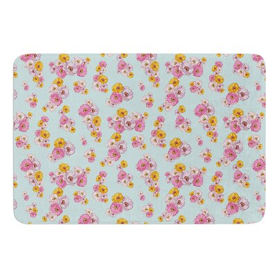 Paper Flower by Laura Escalante Bath Mat